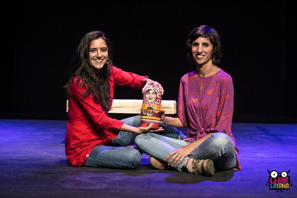 Marta Ortiz e Sofía Espiñeira